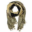 Schal im Pashmina Stil - Muster 14 - 190x70cm - Ethno...