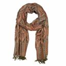 Schal im Pashmina Stil - Muster 20 - 190x70cm - Ethno...