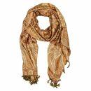 Schal im Pashmina Stil - Muster 21 - 190x70cm - Ethno...