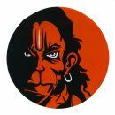 Adhesivo - hombre mono
