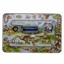 Juguetes de hojalata - calle con coche - Zoo Express Set...