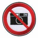 Patch - No photos - black-white-red