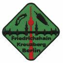Aufnäher - Berlin - Friedrichshain Kreuzberg - Patch