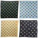 Sciarpa a bandana - Edelweiss grande 4 cm - fazzoletto...