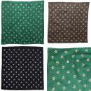 Sciarpa a bandana - Edelweiss piccola 2 cm - fazzoletto...