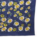 Bandana - Fiore - Modello a fiori - blu - Fazzoletto da...