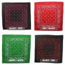Bandana Tuch - Paisley Muster 02 - quadratisches Kopftuch...