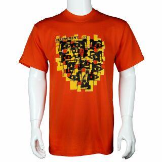 Camiseta - Defragment 13 naranja