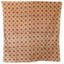 Sciarpa di cotone - Diamanti modello anni 70 1 - foulard...