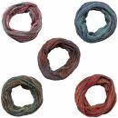 Bufanda de tubo - Bufanda de bucle - 66 cm - diferentes...