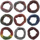 Bufanda de tubo - Bufanda de bucle - 33 cm - diferentes...