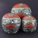 Schmuckdose aus Indien - Schatulle - Dose - Mosaik -...