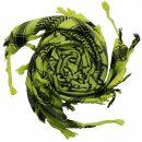 Palituch - Pentagramm grün-grellgrün - schwarz...