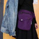 Premium Hip Bag - Buddy - purple - silver-coloured - Bumbag - Belly bag