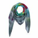 Sciarpa di cotone - Rainbow Spiral - tie dye - foulard...