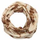 Chal - Bamboo - marrón tie dye - 40x140 cm -...