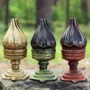 Räucherkegelhalter - Kerzenständer - Figur -...