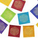 Bandera de oración - Bandera - Flor de la vida -...