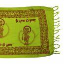 Prayer Shawl - Meditation Wrap - 55 x 22 inch - grün...