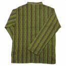 Cotton shirt - Shirt - model 02 - stripes green-red