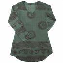 Hemd - Bluse - Om Saira - grün - Oberhemd - Sommerhemd