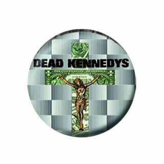 Button - Dead Kennedys - In God We Trust, Inc. - Anstecker