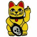 Patch - Lucky Cat - Maneki Neko - Stinky finger - Patch