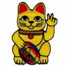 Patch - Lucky Cat - Maneki Neko - Peace sign - Patch