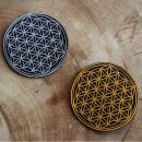 Patch - Flower of life - gold or silver - Patch
