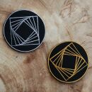 Patch - Hexahedron - Metatrons cube - sacred geometry -...