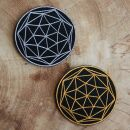 Patch - Dodecahedron - Metatrons cube - sacred geometry -...