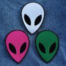 Aufnäher - Alien - verschiedene Farben - Patch