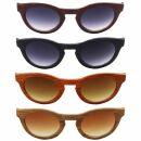 Sunglasses - Planet Woodlook - retro - 6x5 cm - different...