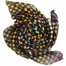 Baumwolltuch - Karos 1 batik schwarz - bunt -...