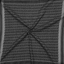 Palituch - grau - schwarz - Kufiya PLO Tuch