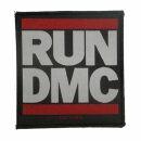 Patch - RUN DMC - Logo white-red-black