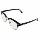 Freak Scene 60s glasses - M - black clear