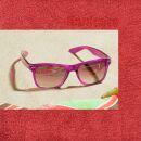Freak Scene Sunglasses - L - pink transparent
