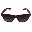 Freak Scene Occhiali da sole - L - rosso trasparente