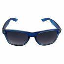 Freak Scene Sonnenbrille - L - blau transparent