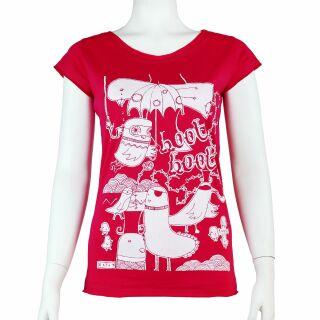 Lady Shirt - Women T-Shirt - hoot hoot