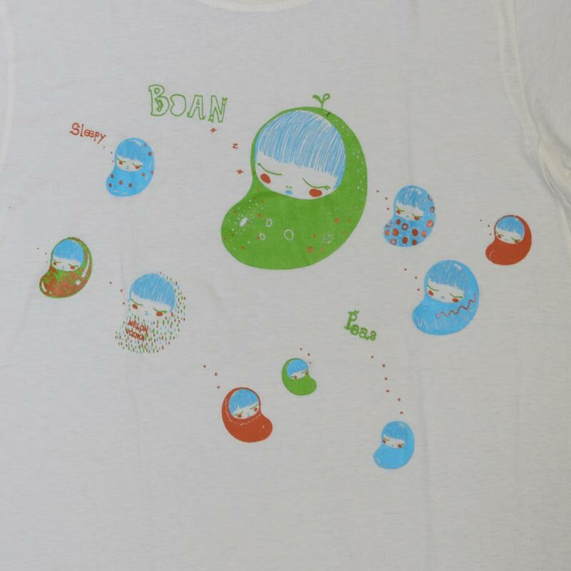 Lady Shirt - Women T-Shirt - Sleepy Boan Peas - Bohnen