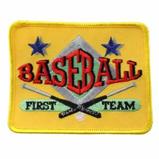 Patch - Baseball First Team