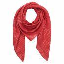 Pañuelo de algodón - rojo Lúrex...
