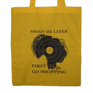 Stofftasche - Shoot me later... 1 - Stoffbeutel