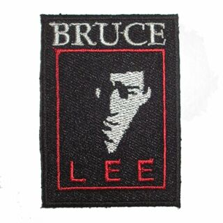 Patch - Bruce Lee - with name