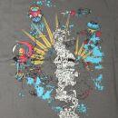 Camiseta - Underwater world gris
