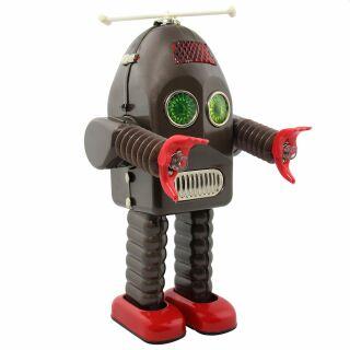 Roboter - Thunder Robot - grau - Blechroboter