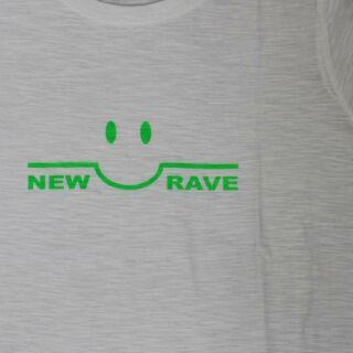 T-Shirt - NEW RAVE weiß