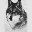 Lady Tank Top - Wolf weiß